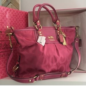 Coach Bags - Coach Madison Julianne Purse Tote in Pink